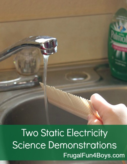 Two Static Electricity Science Experiments