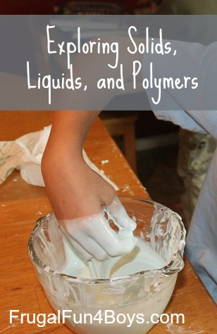 Exploring Solids, Liquids, and Polymers