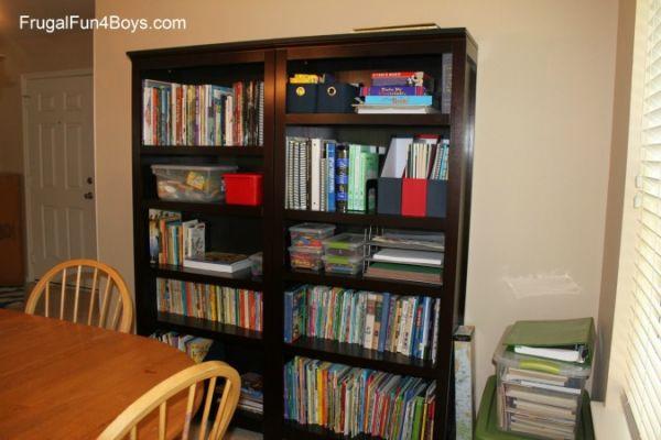 Homeschool room re-do