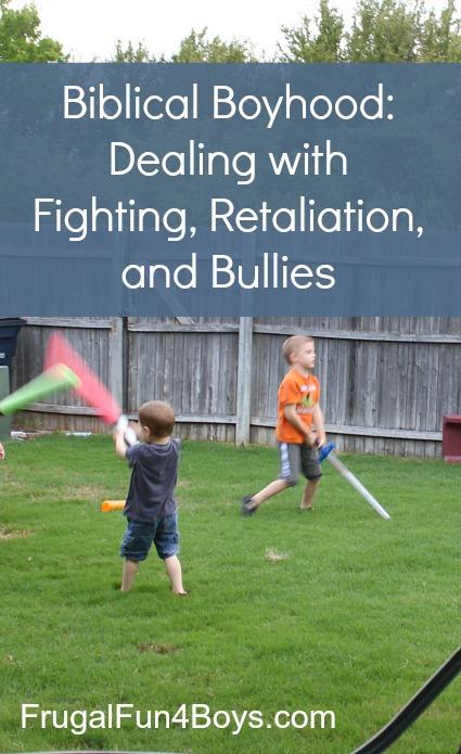 Biblical Boyhood: Fighting, Retaliation, and Bullies