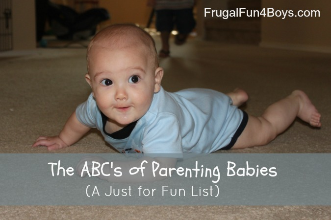 The ABC's of Parenting a Baby