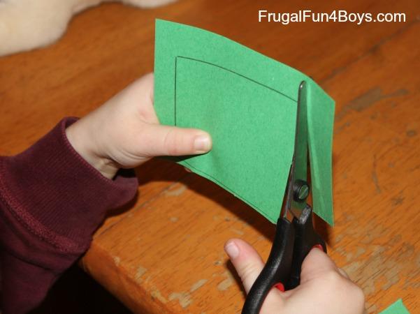 Alphabet Lift-the-Flap Craft