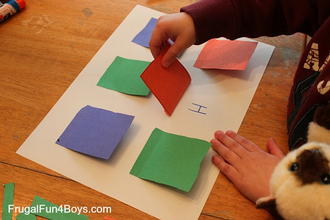 Alphabet Lift-the-Flap Craft for Preschoolers