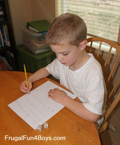 Two games for practicing addition facts