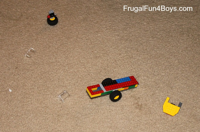 Lego Fun Friday: Build the Most Durable Vehicle and a Lego Linky