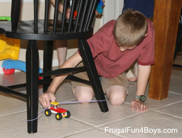Lego Building Challenge: Design the most durable vehicle
