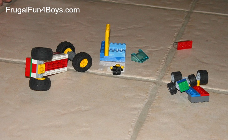 Lego Building Challenge: Design the most durable vehicle (and develop a way to test it!)