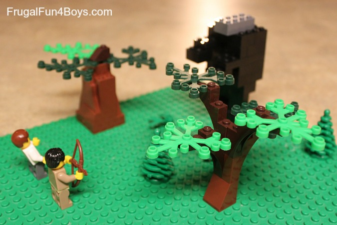 Lego Challenge:  Build something from a book