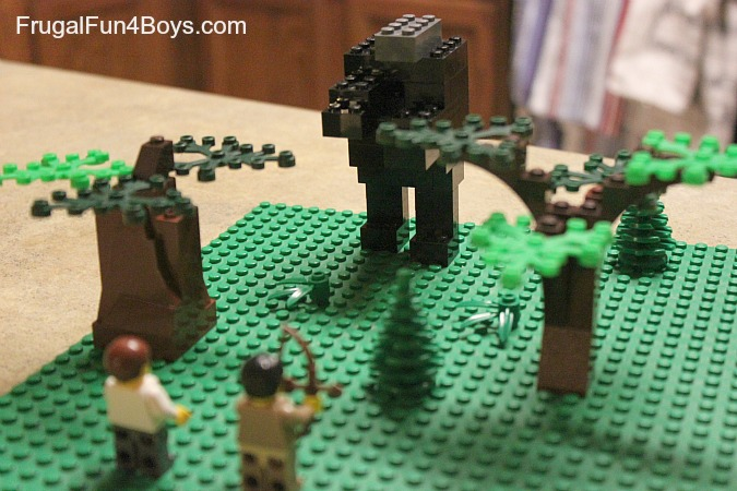 Lego Building Challenge:  Build something from a book