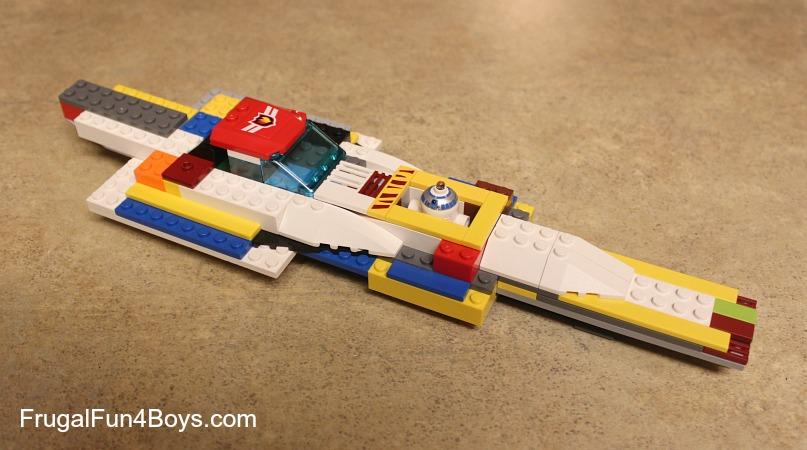 Lego Fun Friday: Build a Flying Vehicle