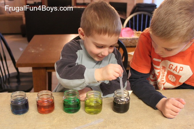 Coloring Mixing and Water Transfer