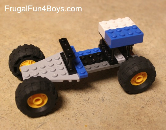 Lego Fun Friday: What Can You Build with 25 Bricks?