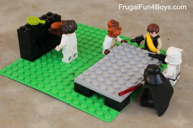 Lego Fun Friday: Lego Photography with Minifigure Scenes