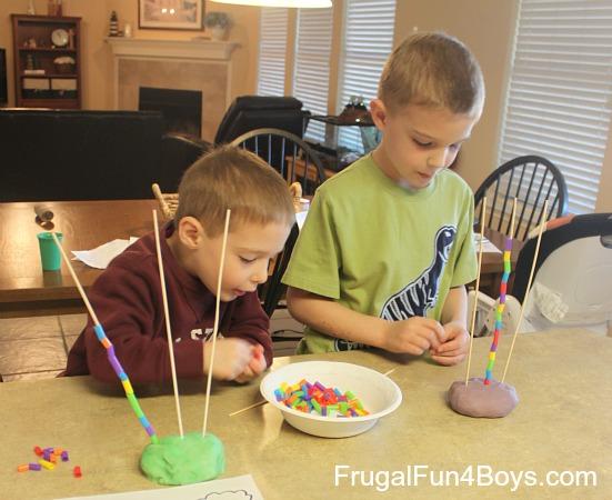 Preschool Pattern Towers