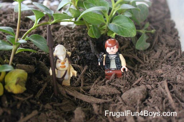Plant a garden for imaginative play
