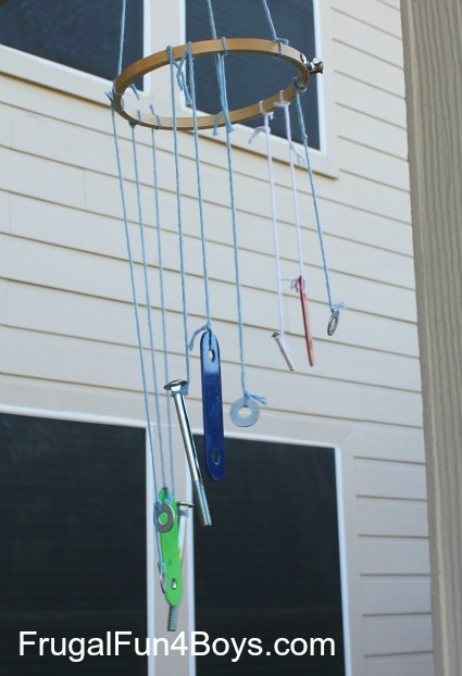 Make an Upcycled Xylophone Wind Chime