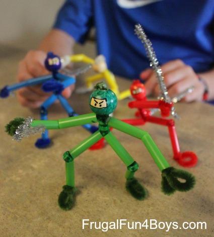 Pipe Cleaner Ninjas
