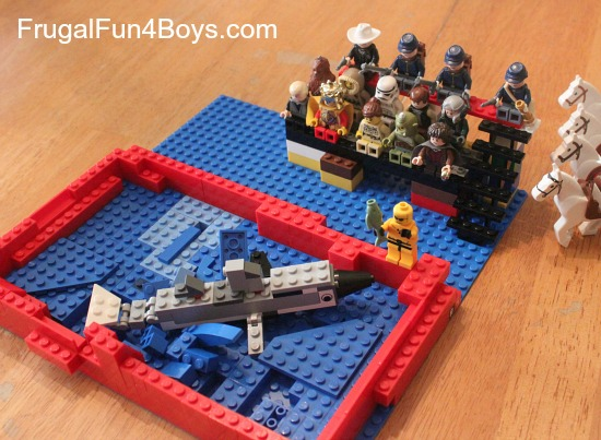 Lego Fun Friday: Sea Animal Building Challenge