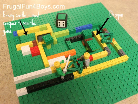 Lego Fun Friday: Board Game Building Challenge