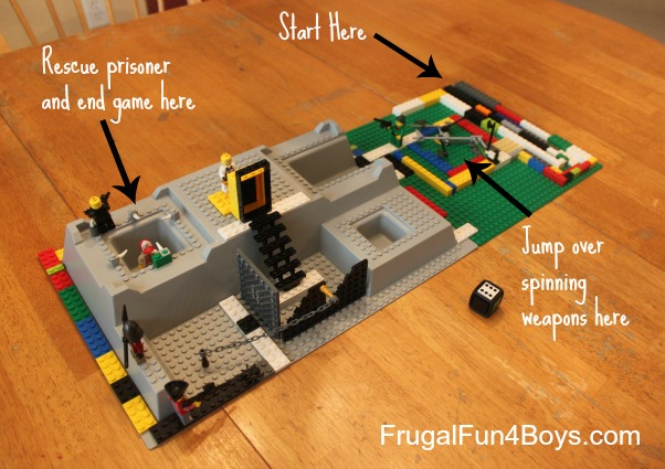 Lego Fun Friday: Build a Board Game Challenge