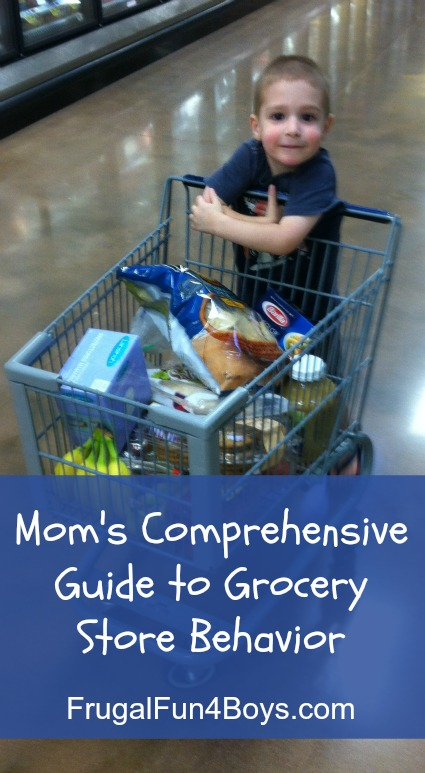 Mom's Comprehensive Guide to Grocery Store Behavior