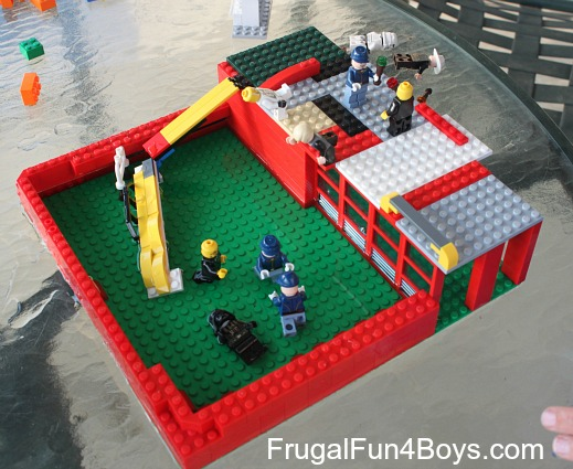 Lego Fun Friday: Summer Themed Building Challenge
