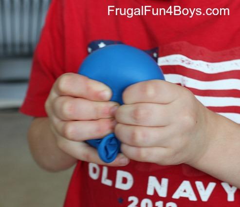 Balloon squishy balls