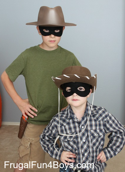 Make your own Lone Ranger mask - with a free printable pattern