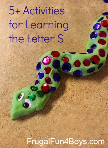 5+ Activities for Learning the Letter S