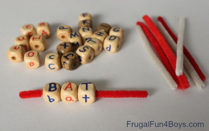 Alphabet Bead Busy Bag
