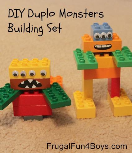 DIY Duplo Monsters Building Set