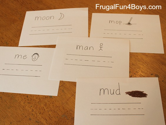 Preschool Activities for Learning the Letter M