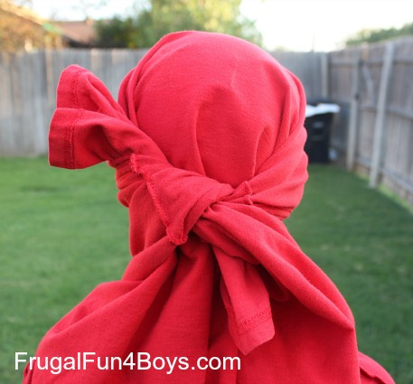 Turn a T-Shirt into a Ninja Mask