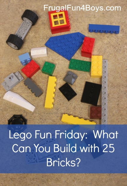 Lego Fun Friday - Building Challenges for Kids