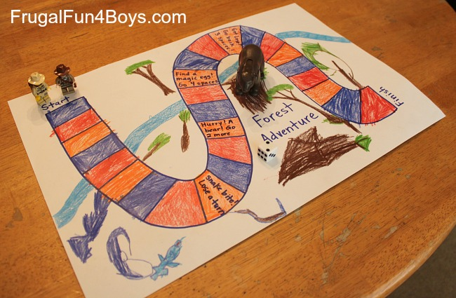 Learn Preschool Math With A Homemade Board Game Frugal Fun For Boys And Girls