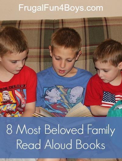 Favorite family read aloud books