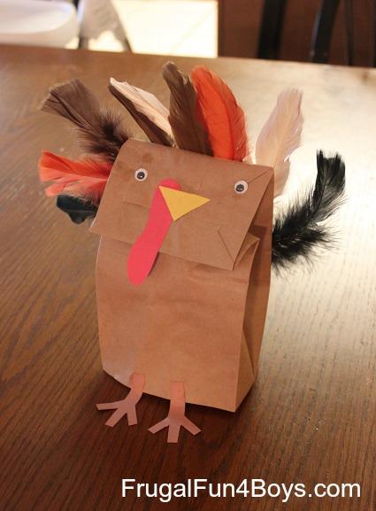 Paper Bag Turkeys