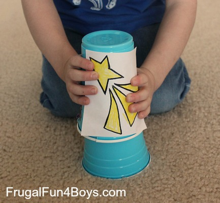 Plastic Cup Shooting Star Launcher