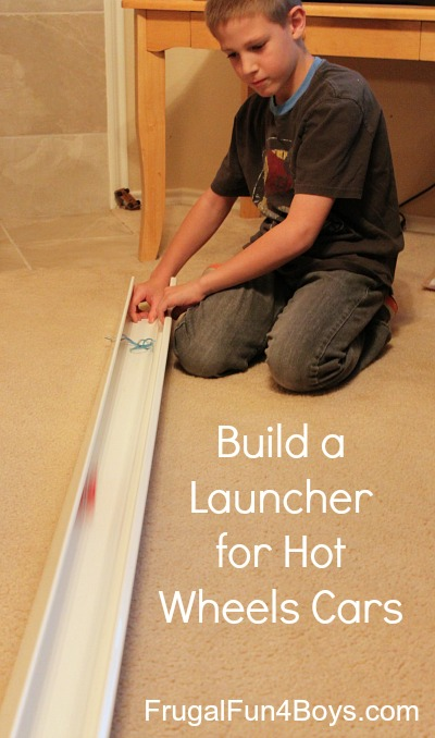 Build a Launcher for Hot Wheels Cars