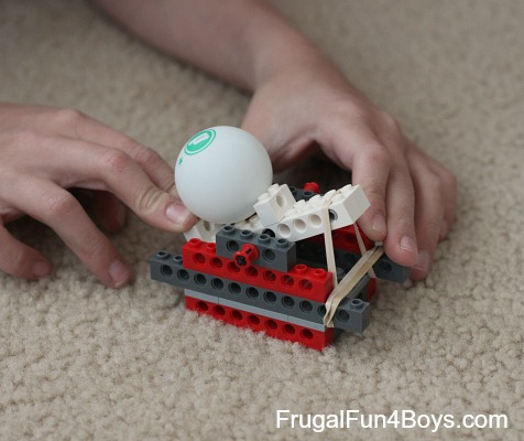 Build a Lego Catapult