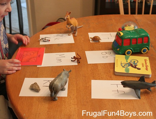 Five (Active!) Activities for Practicing Beginning Word Sounds