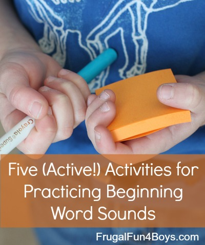 Five (Active!) Activities for Practicing Beginning Sounds