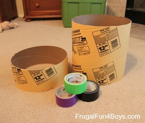 Duct Tape Practice Drum