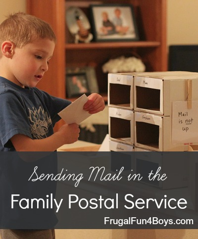 Family or Classroom Postal Service