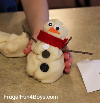 Playdough Snow Goons