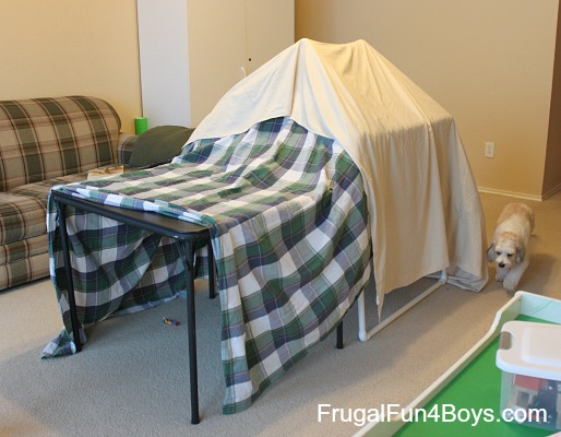 Build a PVC Pipe Tent or Fort