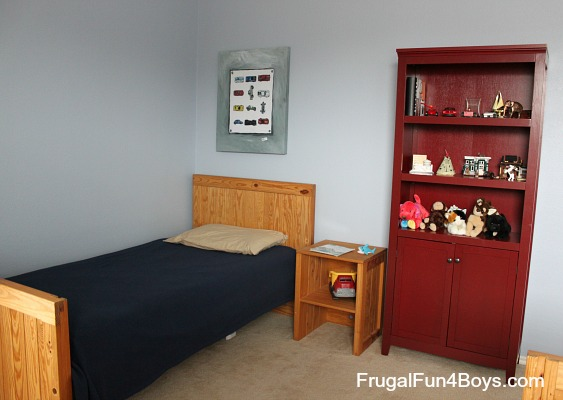 Shared Boys Bedroom Cars Theme