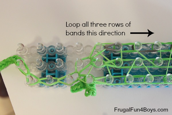 Rainbow Loom Chameleon Tutorial