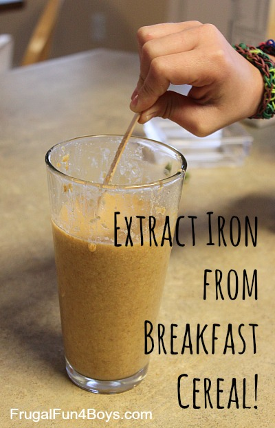 Extract Iron from Breakfast Cereal