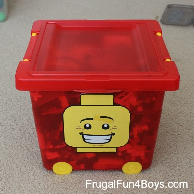 Living with Legos: Storage and Organization Ideas
